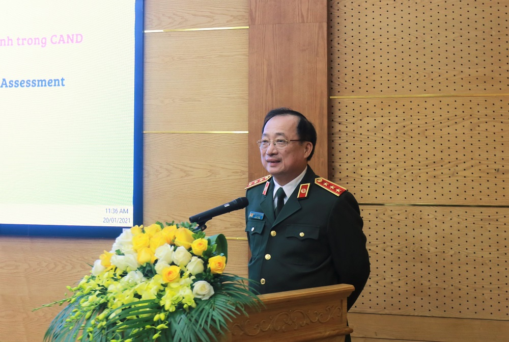 Deputy Minister Nguyen Van Thanh concludes the conference.