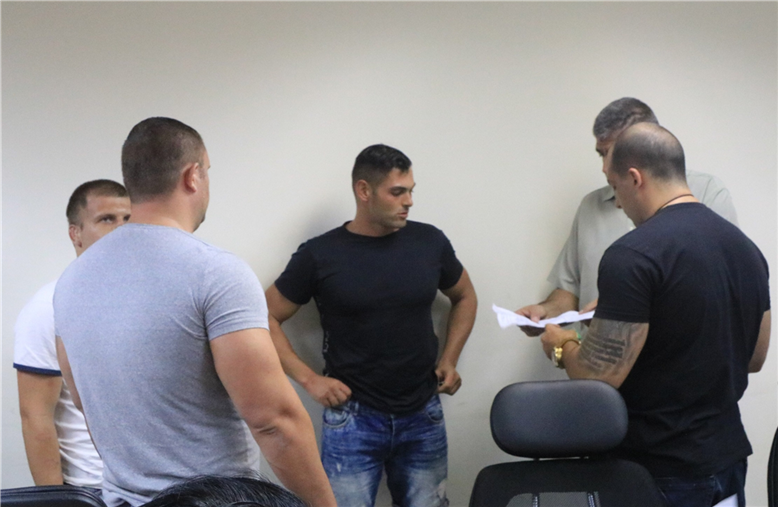 The officials from the Bulgarian Ministry of Justice examined the prisoners.