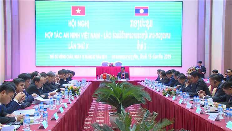 Overview of the 10th Vietnam - Laos Security Cooperation Conference.