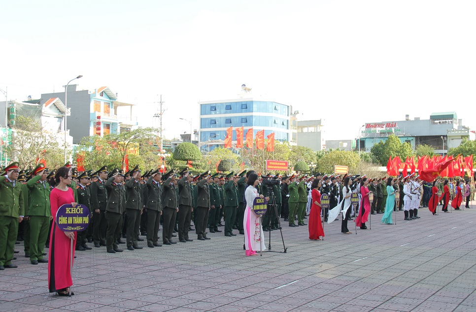 Overview of the ceremony.